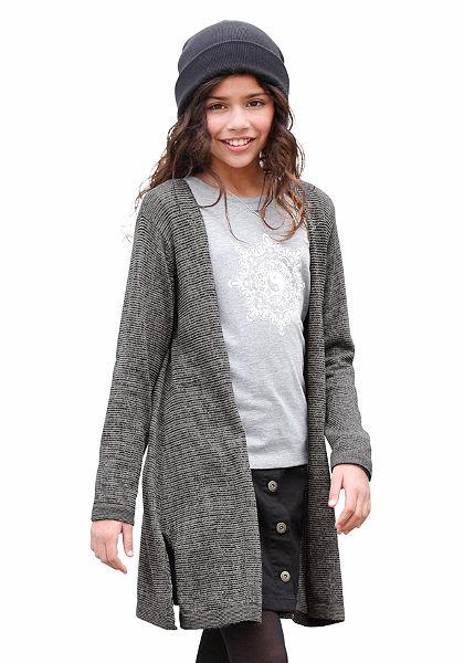 Buffalo Pletený sveter bez zapínania, pre dievčatá