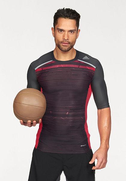 adidas Performance Športové tričko »TECHFIT CHILL SHORT SLEEVE TEE«