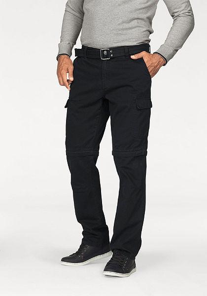 Cargo kalhoty + pásek