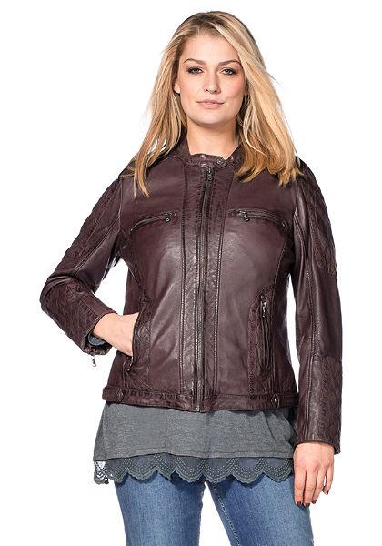 Kožená bunda, sheego Style