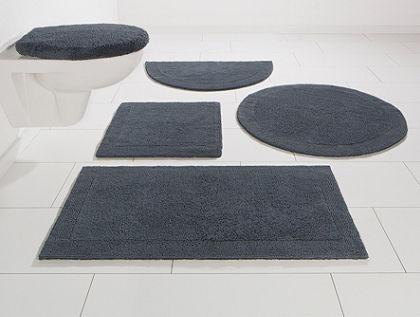Fürdőszobaszőnyeg, fali WC szett, Ecorepublic Home, »Kapra«, kétoldalas,bio pamutból