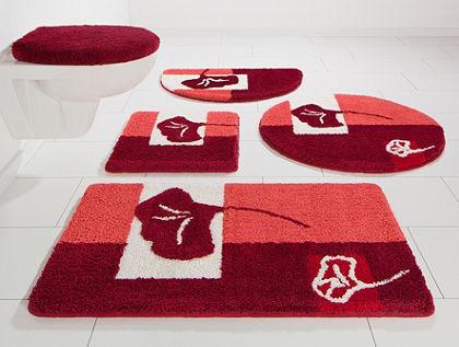 Kúpeľňová predložka, 3-dielna pred závesné WC, my home Selection »Frida«, výška 20 mm, protišmyková úprava