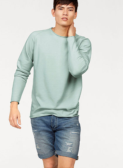 Jack & Jones hosszú ujjú póló »JORSEVEN SWEAT CREW NECK«