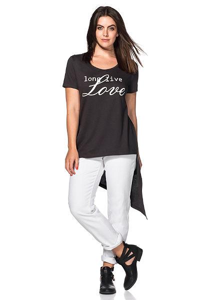 sheego Trend hosszú póló