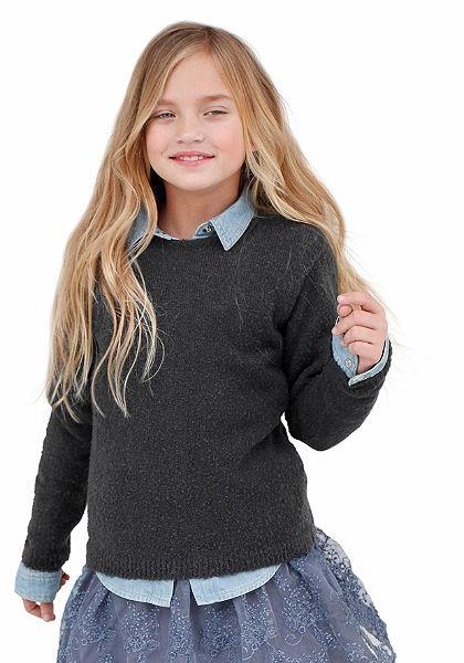 KIDSWORLD lányka pulóver