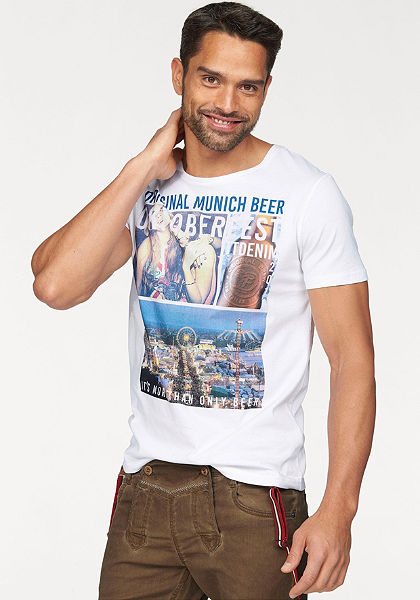 Tom Tailor Denim Tričko »Oktoberfest Tee«