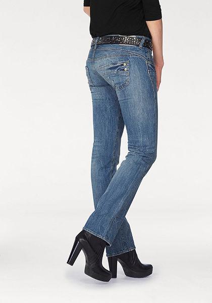 Herrlicher Úzke džínsy »rovný strih«