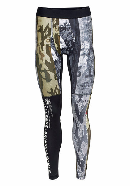 Reebok Sportovní legíny »One Series Winter Camo Compression Tights«