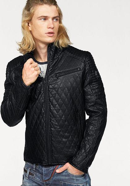 Cipo & Baxx műbőr dzseki
