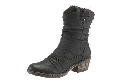 Rieker kovbojská obuv