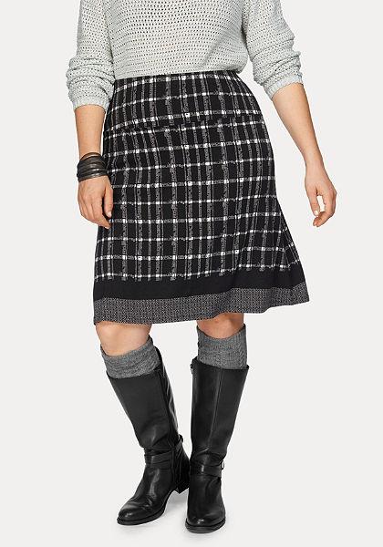 Boysen's Kockovaná sukňa