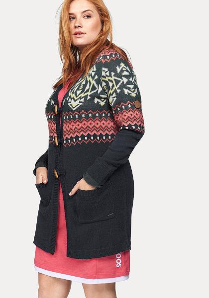 KangaROOS Dlhý pletený sveter