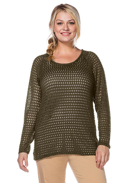 sheego Casual pulóver