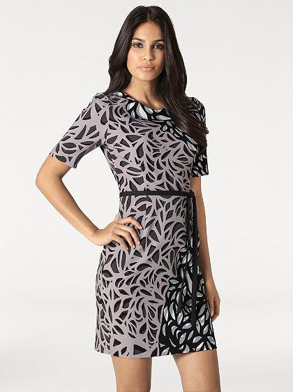 Nyomott mintás ruha