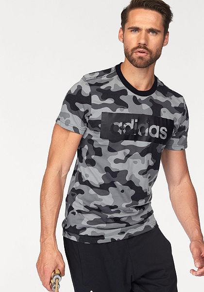 adidas Performance tričko »ESSENTIALS LINEAR TEE CAMO«