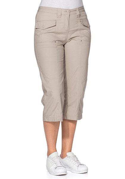 sheego 3/4 strečové kalhoty