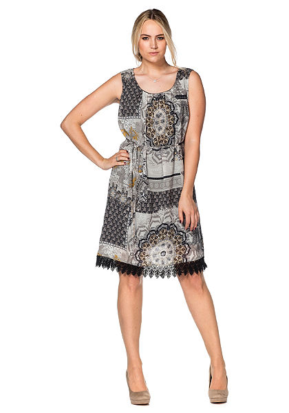 sheego Style Šifónové šaty