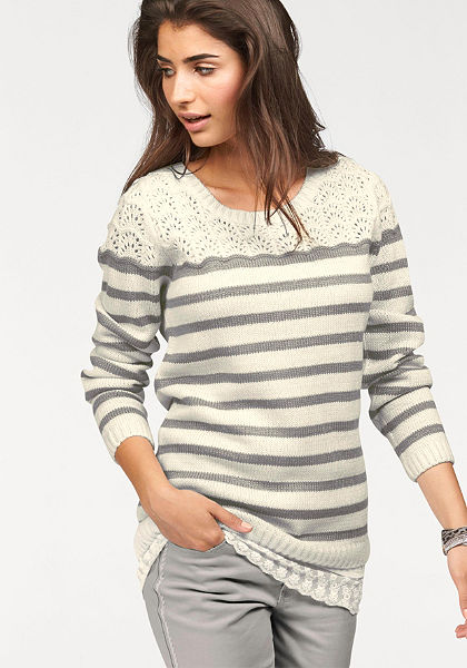 Boysen's Pruhovaný pulóver