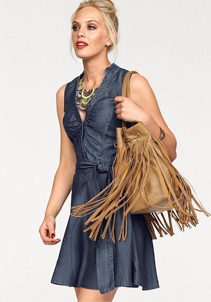 Melrose Džínsové šaty