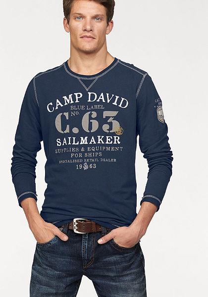 Camp David Tričko s dlhým rukávom