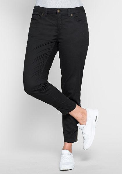 sheego Casual Úzké kalhoty ve střihu s pěti kapsami