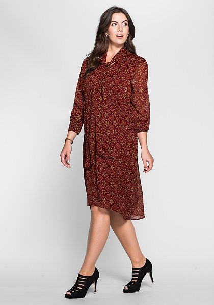 sheego Style Šaty s V výstřihem