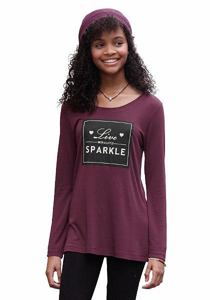 Arizona Dlouhé tričko s potiskem, pro dívky