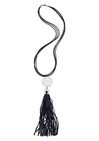 sheego Style Řetízek s umělou perlou