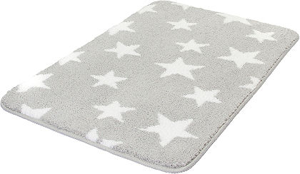 Fürdőszobaszőnyeg »csillags«, Meusch, Höhe 15 mm, csúszásgátló hátoldal