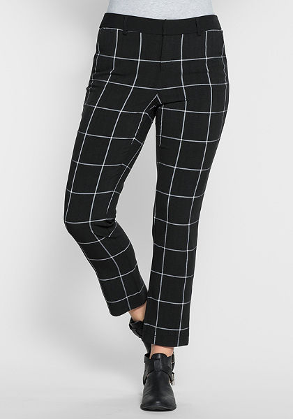 sheego Trend Úzké kalhoty