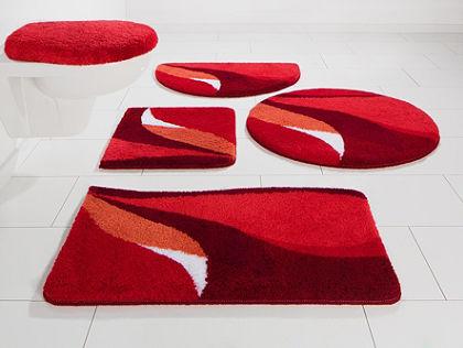 Koupelnový kobereček, protiskluzová úprava půlkruh, my home, »Magnus«, výška 20 mm, protiskluzová úprava