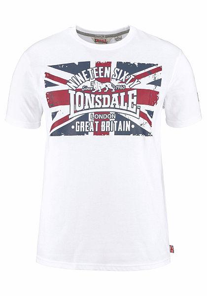 Lonsdale tričko s okrúhlym výstrihom »BRIGG«