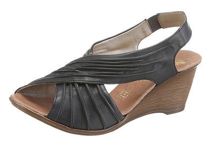 Rieker sandály na klínu