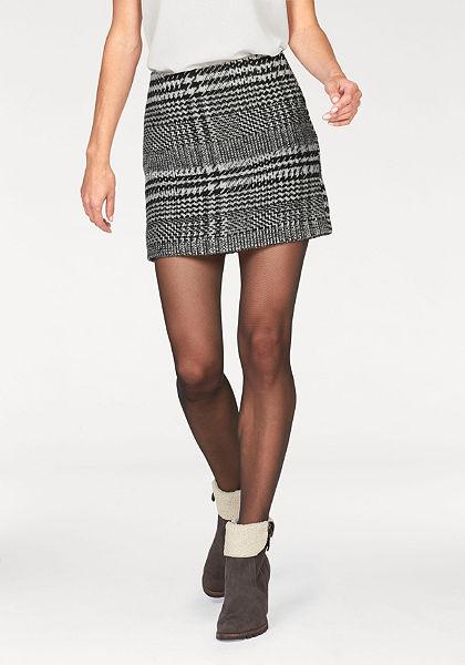Aniston Kostkovaná sukně