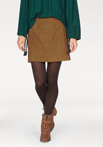 Sukně z imitace kůže Aniston