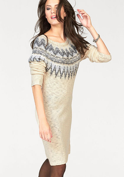 Pletené šaty Aniston