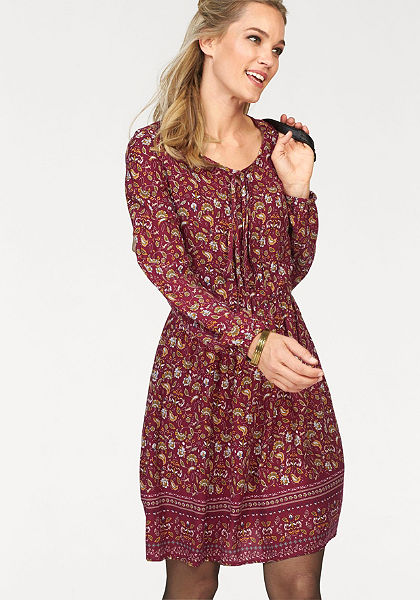 Cheer nyomott mintás ruha