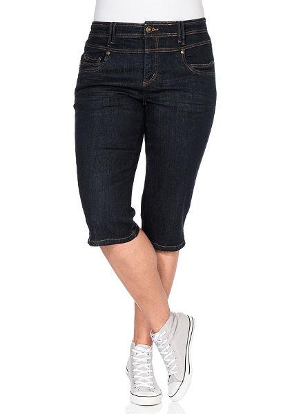 sheego Trend Capri džínsy