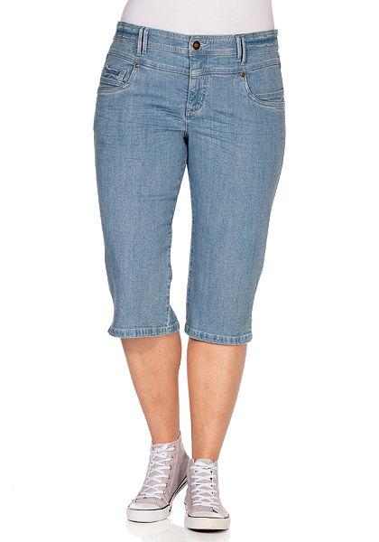 sheego Trend Capri džíny