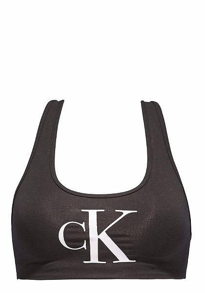 Calvin Klein Krátky top »Retro Lightly Lined«, 1 ks