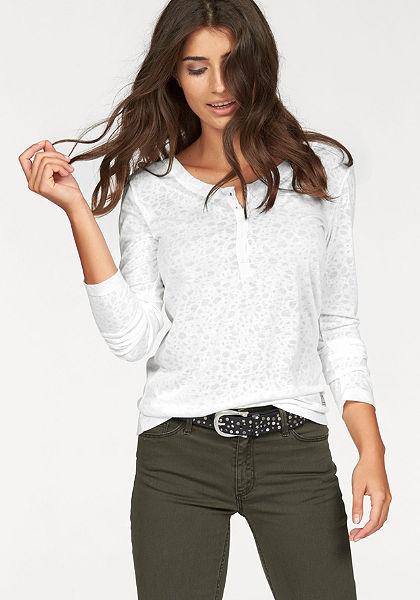 Cross Jeans® hosszú ujjú póló