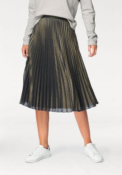 Tom Tailor Denim Plisovaná sukňa