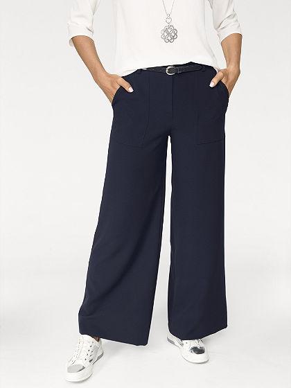 Kalhoty ve střihu Marlen