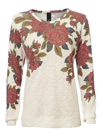 Vzorovaný pulovr
