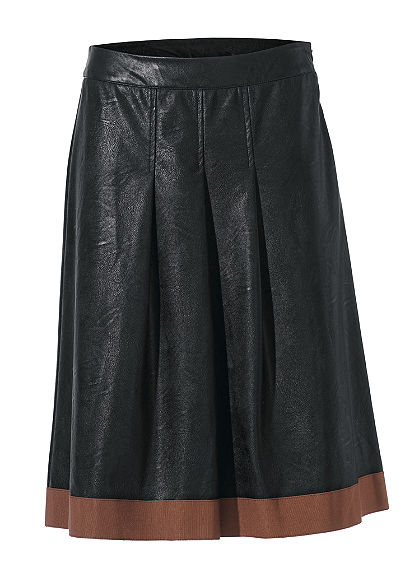 Koženková sukně