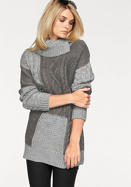 Laura Scott garbónyakú pulóver