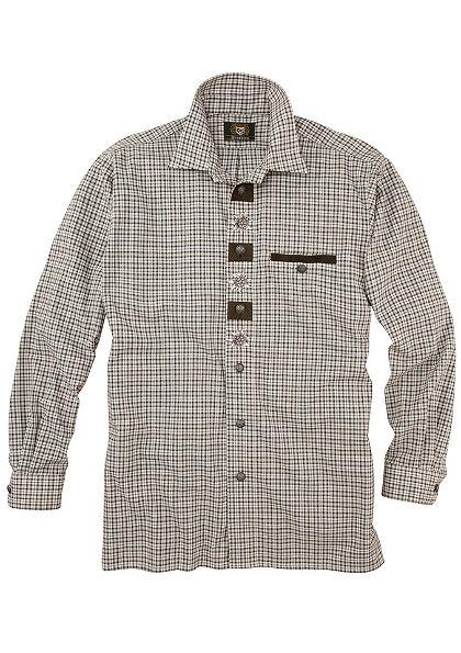 OS-Trachten Krojová košeľa s výšivkou