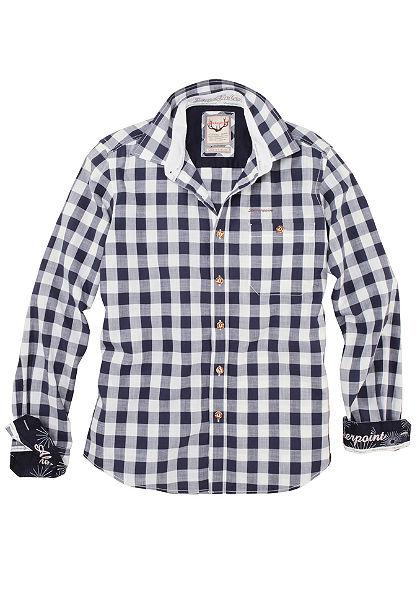 Stockerpoint Krojová košeľa v kockovanom dizajne