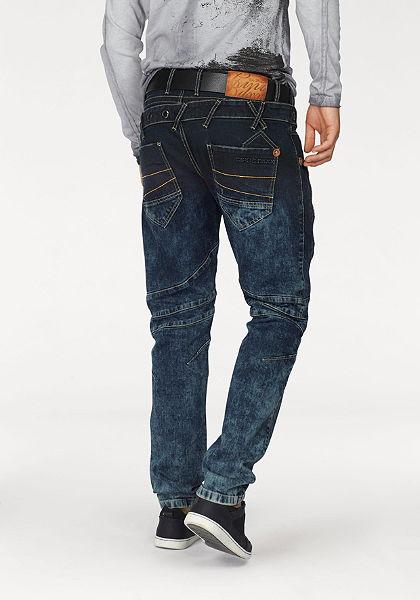 Cipo & Baxx Rovné džínsy