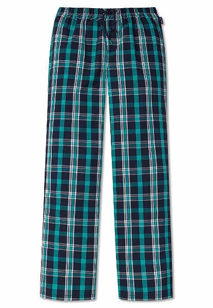 Schiesser Pyžamové nohavice kockované